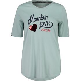 Maloja CasacciaM. - T-shirt manches courtes Femme - turquoise